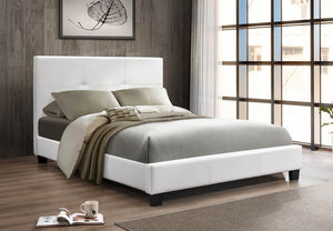 IF 130W - Platform Bed - White