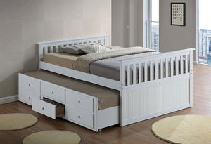 IF 317 W - Bed- White