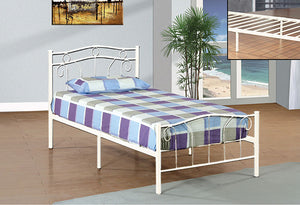IF 155W - Platform Bed - White