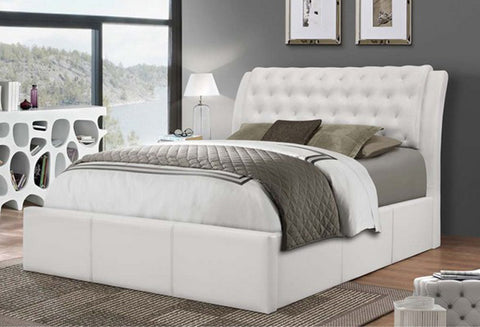 IF 187 - Platform Bed - White