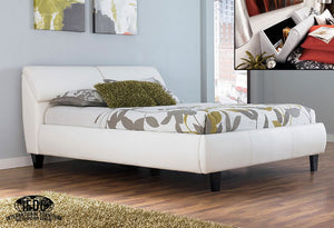IF 193W - White Bed with storage Headboard