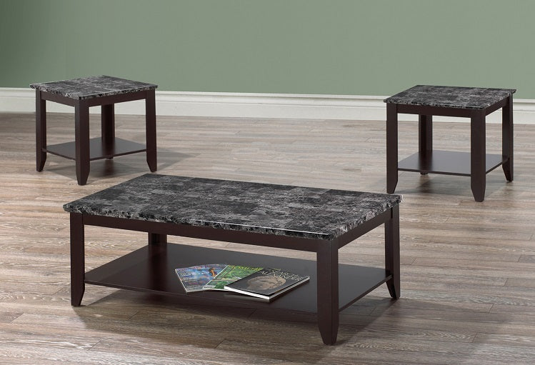 IF 2025 - 3pc Coffee Table Set - New Slate Grey