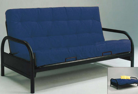 IF 208 - Futon Frame - Black Metal