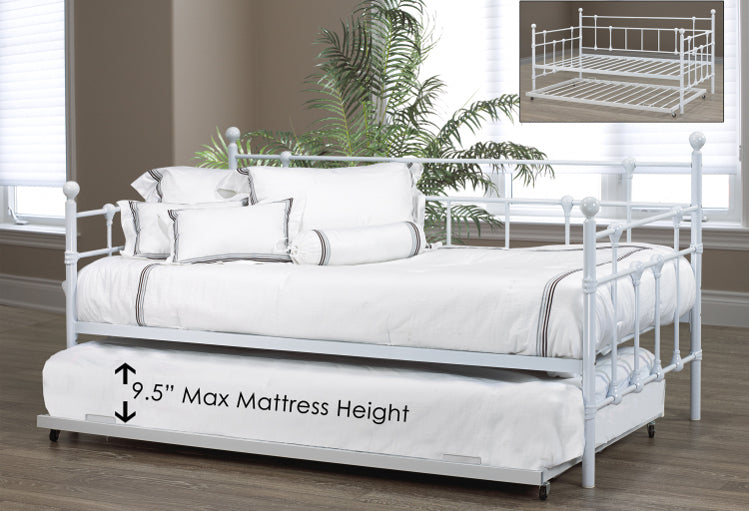 IF 316 - Day Bed - White