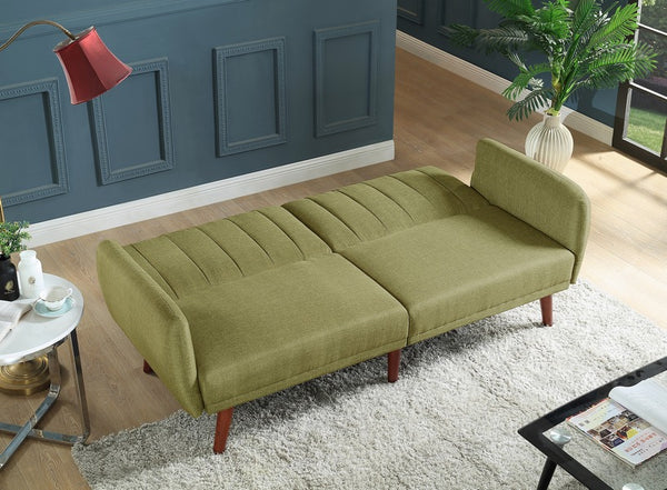 IF 331 - Green Sofa Bed - Canapé Lit Vert