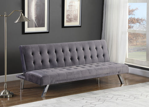 IF 345 - Sofa Bed Grey Velvet