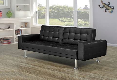 IF 350 - Sofa Bed - Black Upholstery
