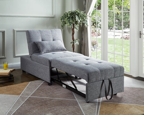 IF 370 - Transformable Ottoman / Chair / Bed