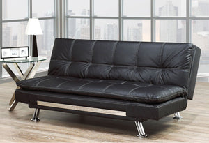 IF 373BK - Sofa Bed - Black