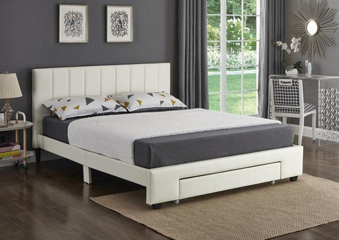 IF 5482 - White Bed - Lit Blanc