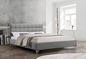 IF 5710 - Bed - Grey Fabric
