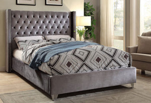 IF 5890 - Bed - Grey