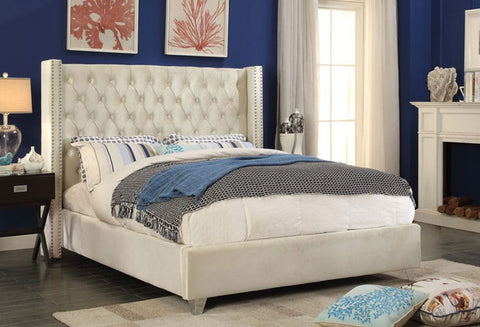 IF 5892 - Bed - Creme
