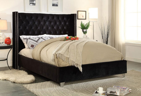 IF 5893 - Bed - Black