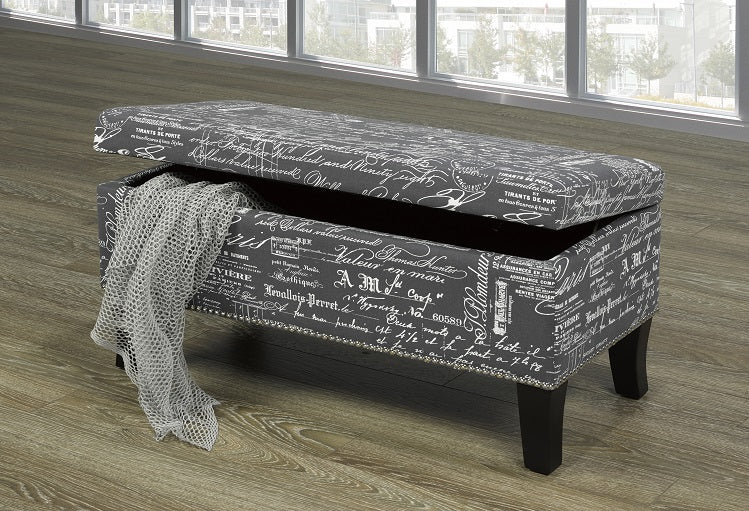 IF 6244 - Bench - Grey French Script
