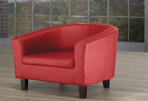 IF 660R -  Tub Chair - Red