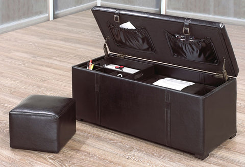 IF 675 -  Office Ottoman Set - Black