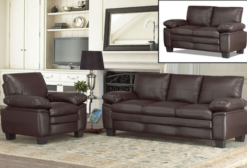 IF 8076 - Love Seat - Brown