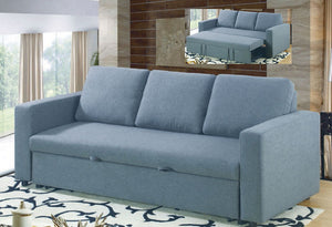 IF 9010 - Sofa Bed - Grey Fabric