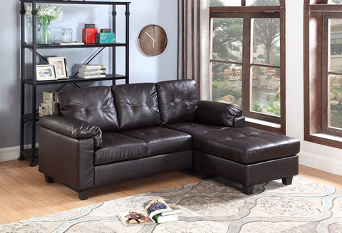 IF 9351 - Sectional Sofa - brown