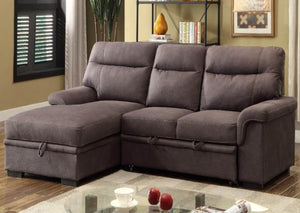 IF 9405 - Sectional Sofa Bed - Grey Elephant