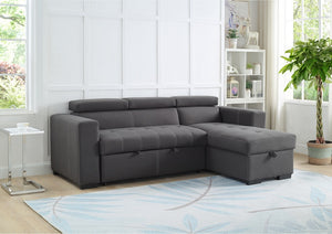 IF 9450 - Reversible Sofabed Sectional with Storage and Adjustable Headrests