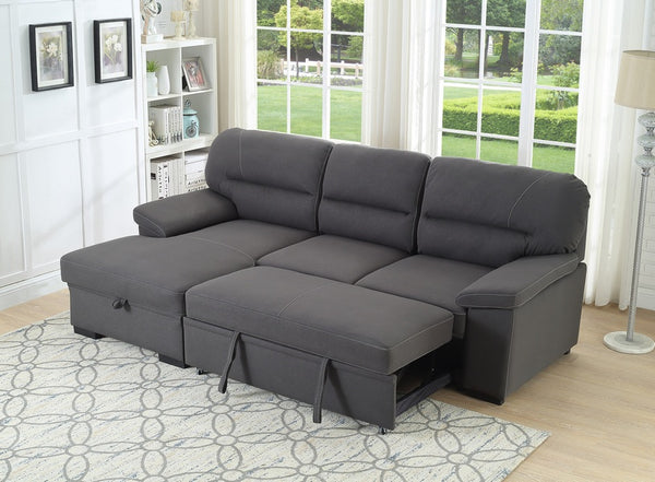 IF 9460 LHF - Sofabed Sectional with Storage (Left Hand Facing)