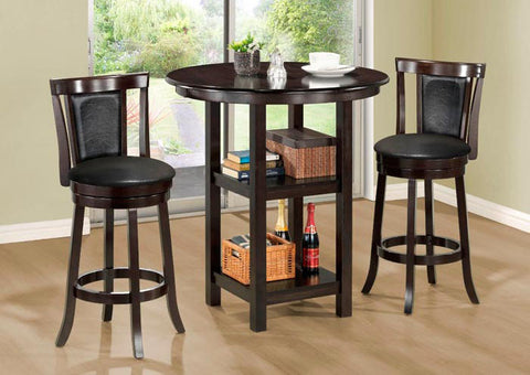 "BARSTOOL - 2PCS / 39""H / SWIVEL / CAPPUCCINO COUNTER HGT"
