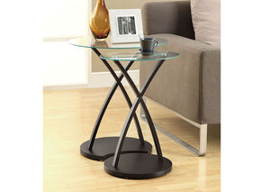 I 3013-NESTING TABLE - 2PCS SET / CAPPUCCINO BENTWOOD