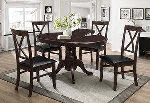 T 1029 / C 1054 - 5Pc Dining Set - Espresso
