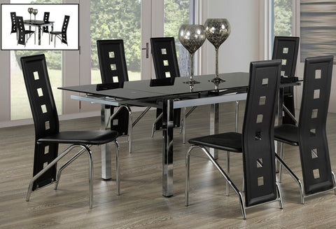 T 1505 / C 5066 - Dining Set 7 pcs