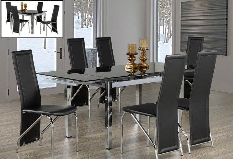 T 1505 / C 5070 - Dining Set 7 pcs