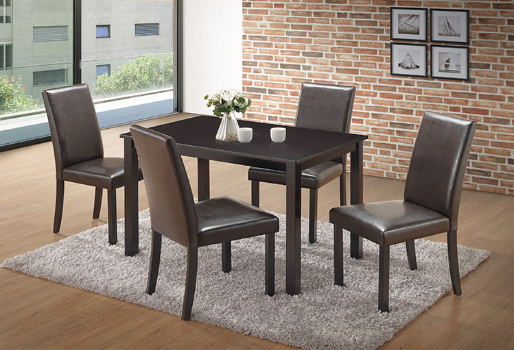 T 1570 / C 1570 – Dining Set 5pc - Espresso