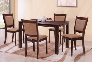 T 5040 / C 1065 – 5Pc Dining Set – Espresso
