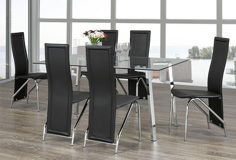 T 5057 / C 5070 - 7pc Dining Set