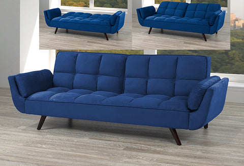 T 1505 - Sofa Bed - Royal Blue