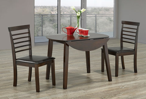 T Toronto / C 1011 - 3pc Dining Set - Espresso