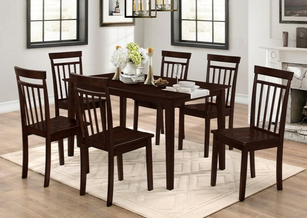 T 1045 - Dining Table Adjustable Espresso