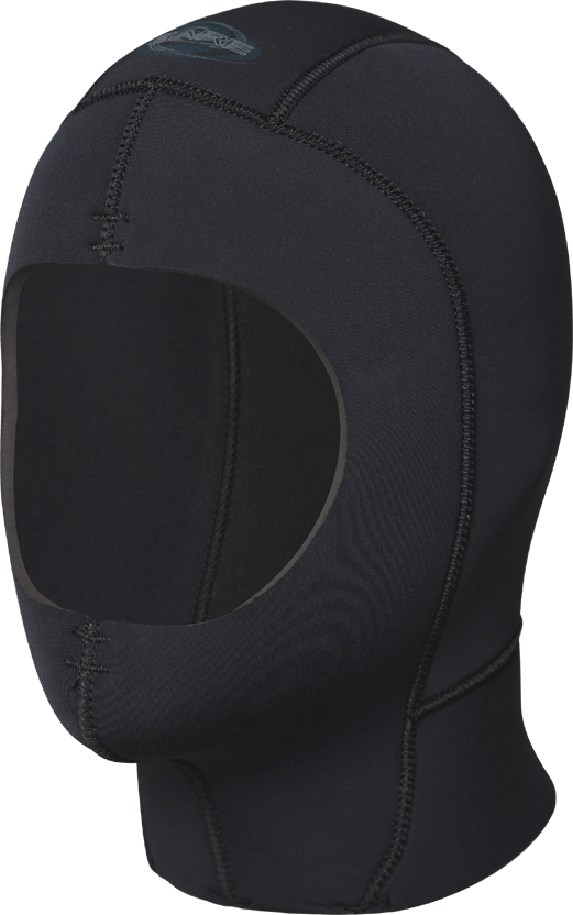 Bare 9mm ELASTEK Dry Hood, Black - SKIN OUT