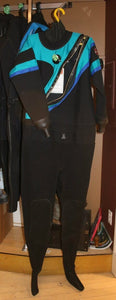 DUI Drysuit FLX5050 Womens Large (Used)