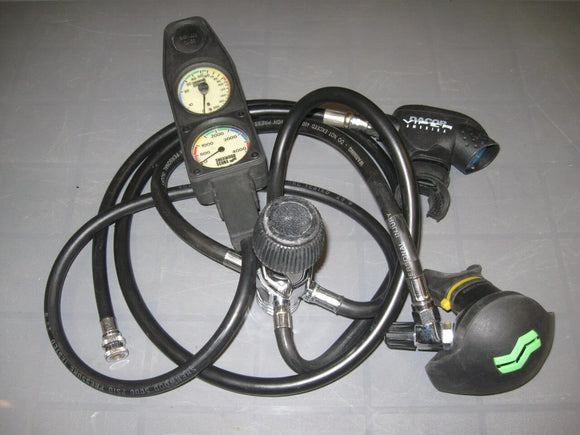 Sherwood Brut Regulator w-Dacor Octo and Sherwood Gauges (Used)
