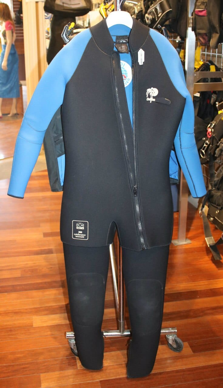 Oceaner 7mm Coldwater Mens Wetsuit Large (Used) Reduced!