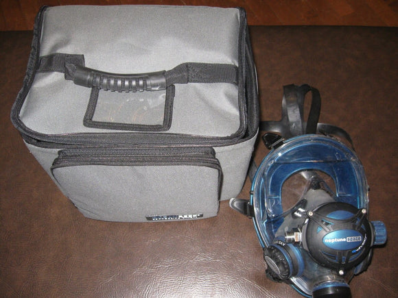 ON SALE! Ocean Reef Neptune Space G Diver IDM Full Face Mask (S-M) Emerald (Used 2 dives)