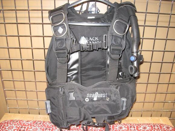 Seaquest Black Diamond BCD Medium (Used)