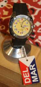 Del Mar Long Life Quartz Watch International Yellow Dial