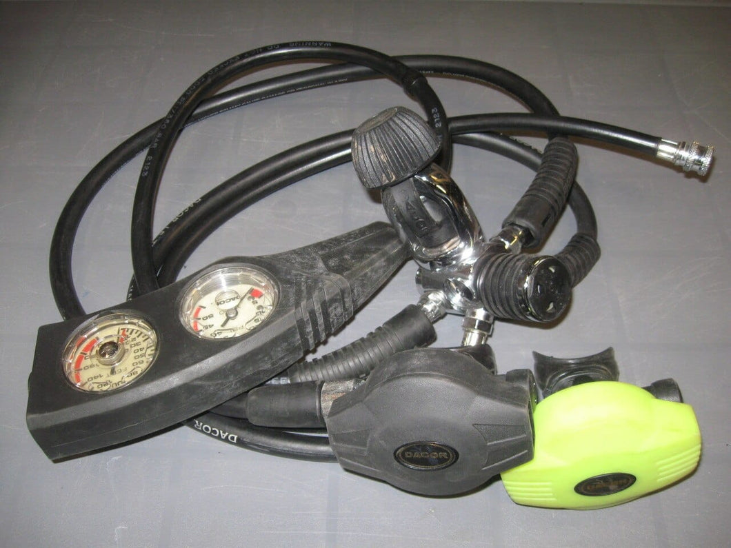 CLEARANCE! Dacor Pacer Regulator w-Dacor Octo and Dacor Gauges (Used)