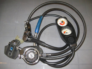ScubaPro Regulator w - ScubaPro Octo and ScubaPro Gauges (Used)