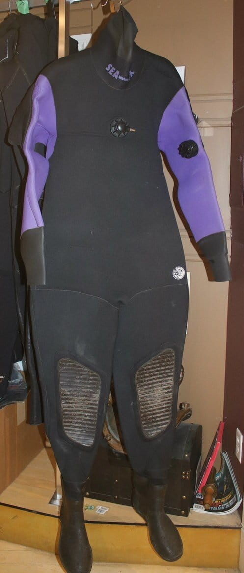 SeaTUX Neoprene Drysuit Medium (Used) Reduced!