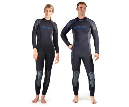 Akona Quantum Stretch Full Wetsuit - 7mm
