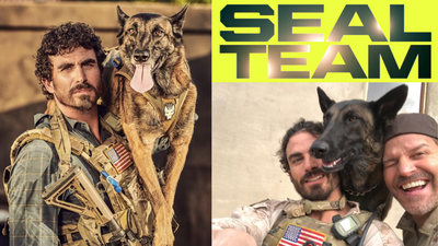 CBS SEAL TEAM JUSTIN MELNICK & DITA THE HAIR MISSILE INTERVIEW